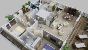 Exle Of High Quality 3d Floor Plan Penthouse Suite In Germany Floor Plan 3d Suite