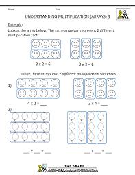 beginning multiplication worksheets math madness pinterest