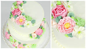 wedding cake buttercream buttercream flower wedding cake tutorial cake style