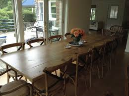 Big Wood Dining Table Commercial Reclaimed Wood Tables Black S Farmwood Within Large