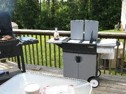 Backyard Grills Walmart Gear Deluxe Barbecue Station With Sink Walmart Com