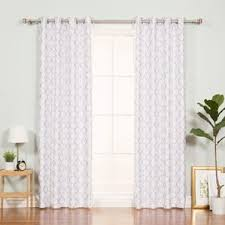 geometric curtains u0026 drapes birch lane