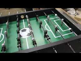 Regulation Foosball Table Hbs Foosball Table Assembly Video Youtube
