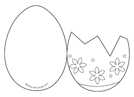 easter egg card templates holiday themed things pinterest