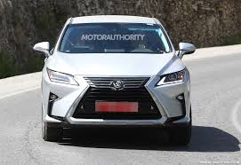 lexus rx redesign years 2019 lexus rx spy shots