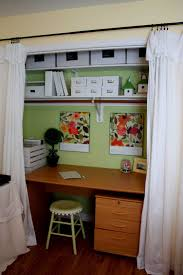 Unique Small Closet Office Ideas D To Inspiration Decorating - Closet home office design ideas