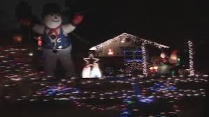 Los Angeles Christmas Decorations Candy Cane Lane Los Angeles Ca Youtube