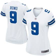 what jersey will the cowboys wear on thanksgiving women u0027s dallas cowboys tony romo 9 nike jersey large best