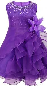 frock images party wear purple net designer baby frock bp0153