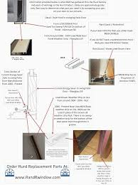 sliding glass door weather seal hurd window replacement parts blog order parts at www