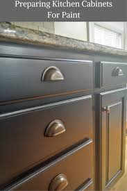 how to prepare kitchen cabinets for painting prepping kitchen cabinets for paint at home with the ellingtons