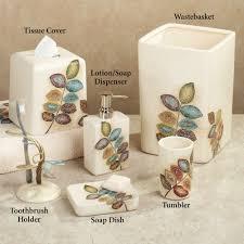 Fish Bathroom Accessories Bath U0026 Shower Exquisite Croscill Bath Accessories With Beautiful