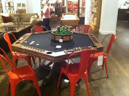 Poker Dining Room Table Pottery Barn Poker Table Man Cave Pinterest Poker Table