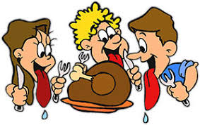 hungry free thanksgiving s animated clipart image 37442