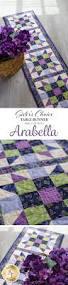 sister u0027s choice table runner pre cut kit arabella a quilter u0027s