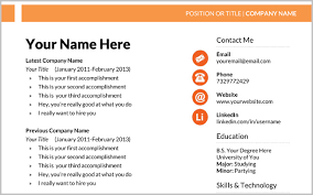 resume template with picture free marketing resume template stephen murphy s
