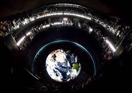 Home Planetarium Projector Projectors Empower Columbus Earth Theater Planetarium Barco
