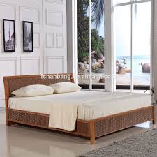 Double Bed Frame Design Latest Double Bed Designs Natural Rattan Bed Sets Double French