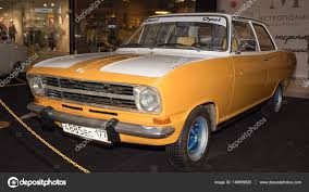 vintage opel car moscow russia april 02 2017 opel kadett b germany 1972