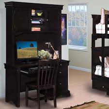 stratford black cherry youth desk with hutch and chair for 619 94