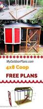 learn how to build a 4x8 chicken coop in your own backyard use my