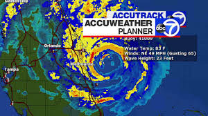 Mexico Hurricane Map by Hurricane Matthew Tracking Map From Accuweather Abc7ny Com