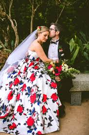 so much love for this colorful pantone swatch floral wedding