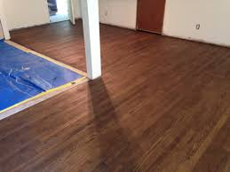oak wood flooring refinishing in englewood