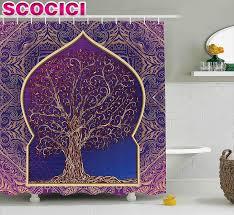 online get cheap moroccan fabric shower curtain aliexpress com