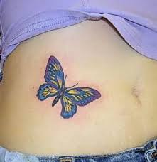 small butterfly design ideas on hip ideas trend hip bone tattoos