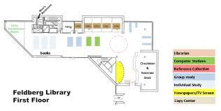 feldberg library floor plans