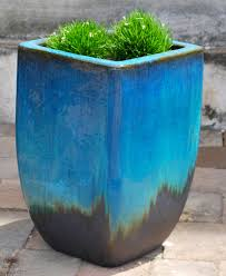 indoor modern planters lawn garden modern planter and black garden pots round erineum