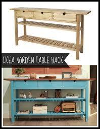 Best  Ikea Table Hack Ideas On Pinterest Ikea Lack Hack Ikea - Kitchen side tables