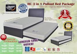 Pullout Bed 3 In 1 Pullout Bed Package Limited Time Offer Sleep Space