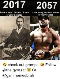 Gym Rats Meme - 2017 2057 look honey i found a picture look honey i found a picture