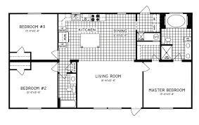 3 bedroom 2 bath floor plans 3 bedroom floor plan c 8105 hawks homes manufactured