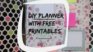 create your own planner template erin condren inspired diy planner free printables youtube