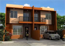 Classy Design 2 Storey Duplex House Philippines 4 CHERELLE HOMES
