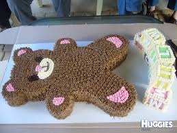ted the teddy bear huggies birthday cake gallery huggies