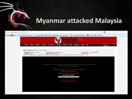 myanmar attacked malaysia cont this issues