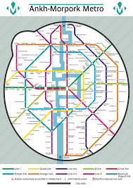 Ana Route Map Ankh Morpork Routemap By Williamtr On Deviantart