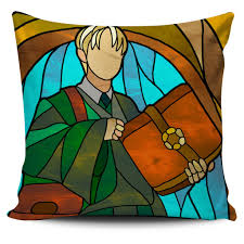 harry potter stained glass design pillow covers u2013 luvlavie
