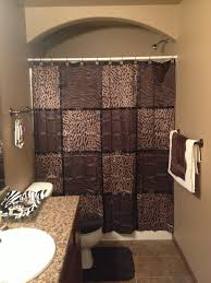 Animal Print Bathroom Ideas by Bathroom Brown And Cheetah Decor Love This The New Home
