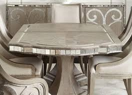 mirrored dining room table t1840 i furniture import export inc popular mirrored dining room