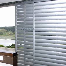 Plantation Shutters For Patio Doors Aluminum Plantation Shutter Door Buy Aluminum Adjustable Shutter
