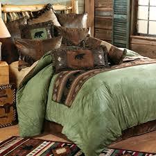 Earth Tone Comforter Sets Duvet Covers Bear Country Comforter Sets Log Cabin Duvet Covers