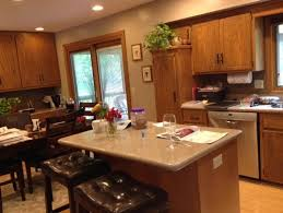 kitchen island different color than cabinets need help with kitchen cabinet finish paint or stain
