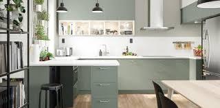 ikea kitchen cabinets gray matte gray green kitchen cabinets bodarp series ikea