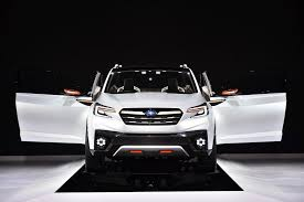 crossover cars 2018 subaru u0027s new 3 row crossover that replaces tribeca is coming in