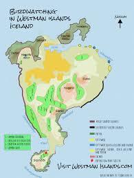 Iceland On Map Bird Watching In Vestmannaeyjar Iceland Visit Westman Islands
